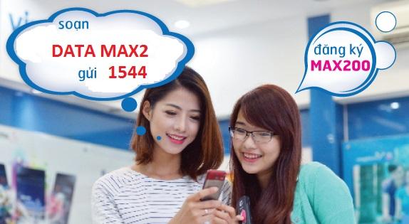 Hướng dẫn đăng ký gói Max200 Vinaphone
