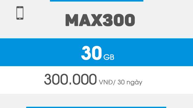 Hướng dẫn đăng ký Gói MAX300 Vinaphone