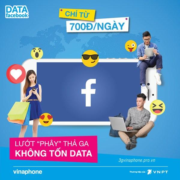Lướt facebook không giới hạn cùng Vinaphone