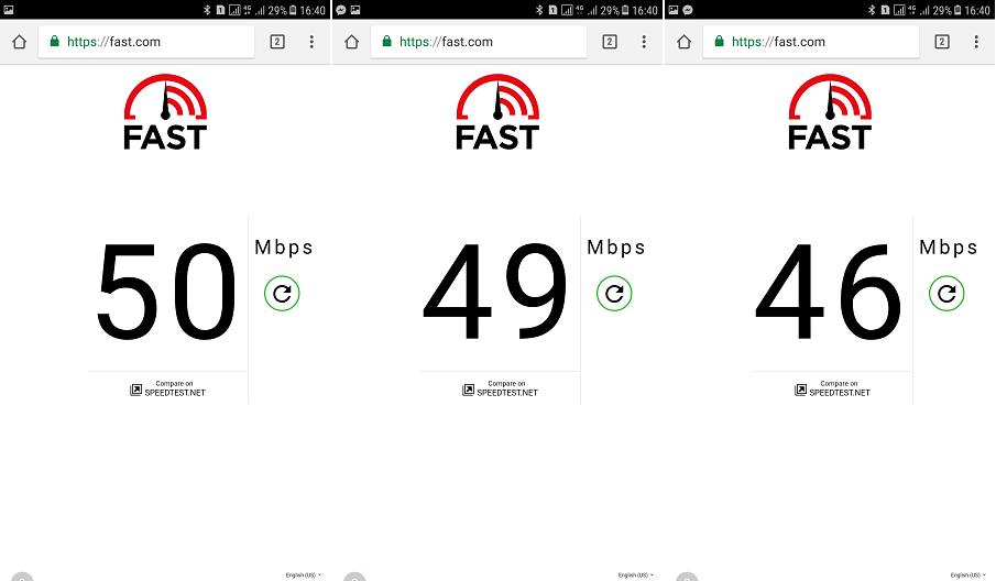 Speedtest lần 3