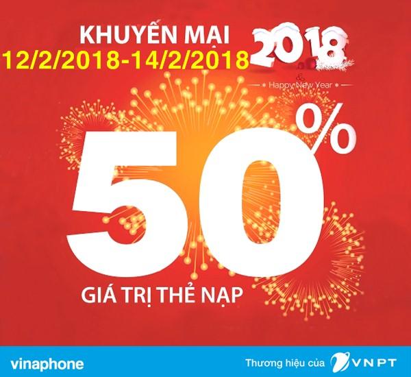 Siêu bão ngày vàng Vinaphone tưng bừng khuyến mại từ 12/02 - 14/02