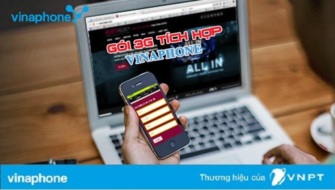 Hướng dẫn đăng ký gói cước 3G tích hợp của Vinaphone
